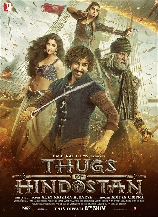 IMAX 2D THUGS OF HINDOSTAN