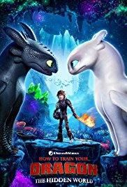 3D How to train your Dragon: The Hidden World